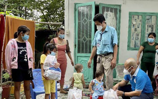 Trao 5.000 phần quà trung thu cho trẻ em bị ảnh hưởng COVID-19 tại Thành phố Hồ Chí Minh