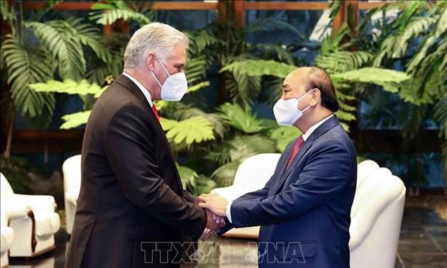 Thắt chặt và làm sâu sắc mối quan hệ đoàn kết và hợp tác toàn diện Việt Nam-Cuba