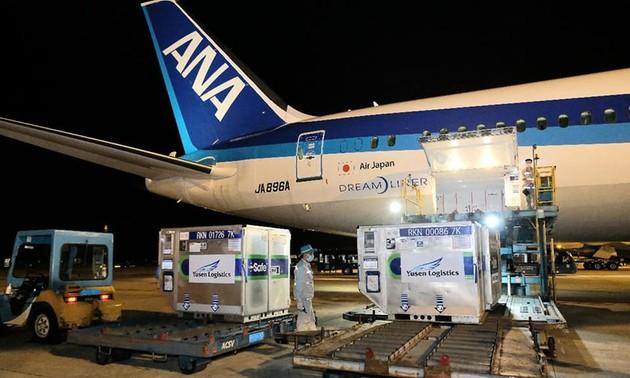 Nhật Bản viện trợ thêm cho Việt Nam 400.000 liều vaccine phòng dịch COVID-19