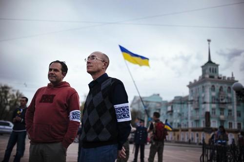 На юго-востоке Украины сохраняется напряженная ситуация