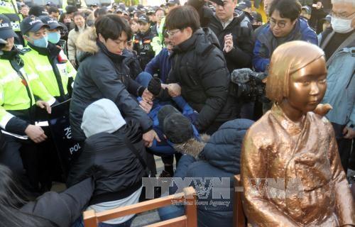 Снова обострился территориальный спор между Японией и Республикой Корея