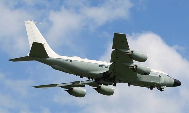 Военные самолёты Великобритании, НАТО и Швеции провели активную разведку вблизи территории России