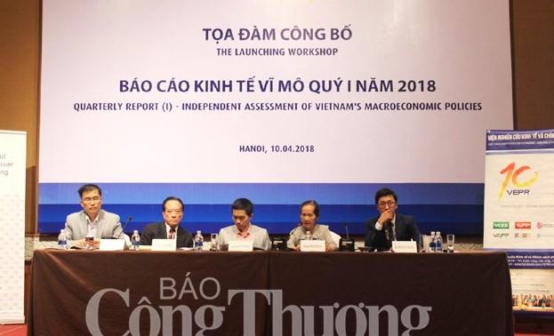 Экономика Вьетнама в первом квартале 2018 года росла впечатляющими темпами