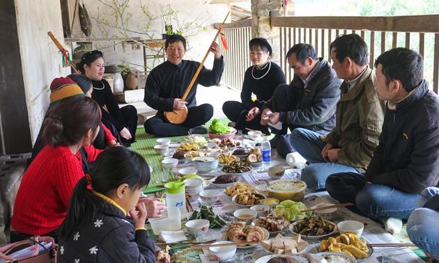 Новогодние традиции представителей народности таи, проживающих на северо-восточной границе страны