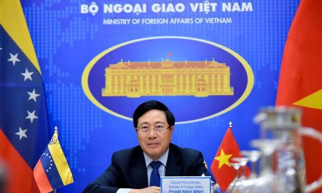 Вьетнам и Венесуэла активизируют отношения дружбы и сотрудничества