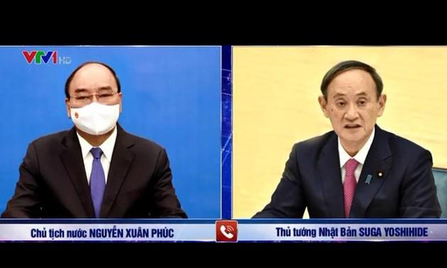 Президент Нгуен Суан Фук: Вьетнам всегда рассматривает Японию как важного и долгосрочного стратегического партнёра