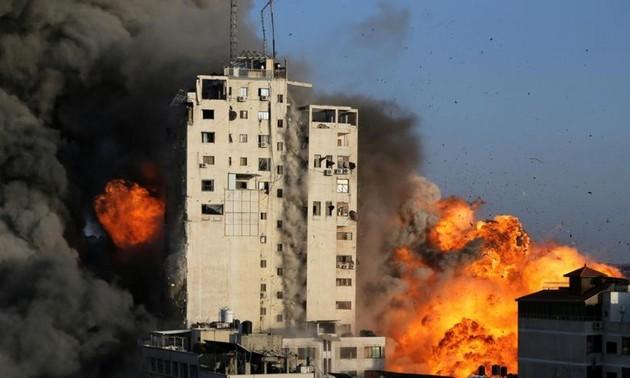 В секторе Газа вновь вспыхнул конфликт