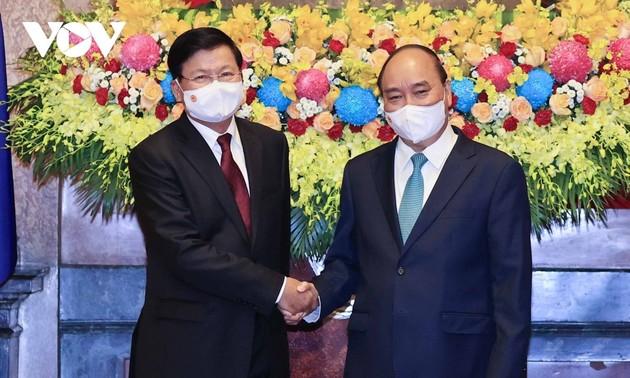Соответствие вьетнамо-лаосского сотрудничества особым отношениям