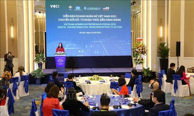 Форум вьетнамских женщин-бизнесменов 2021 года
