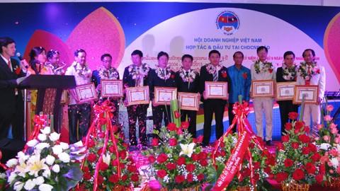 Hội doanh nghiệp Việt Nam tại Lào kỷ niệm ngày doanh nhân Việt Nam lần thứ 9