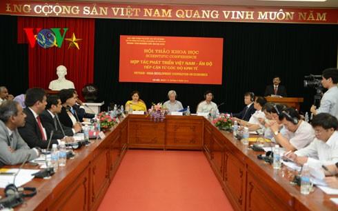 Thúc đẩy quan hệ hợp tác, phát triển kinh tế, thương mại, du lịch Việt Nam và Ấn Độ