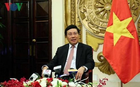 Phó Thủ tướng Phạm Bình Minh thông báo kết quả Tuần lễ cấp cao APEC 2017