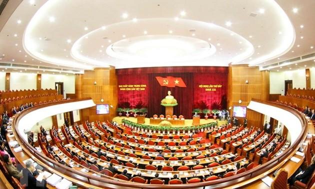 Phiên bế mạc Hội nghị lần thứ 7 Ban Chấp hành Trung ương Đảng khóa XII