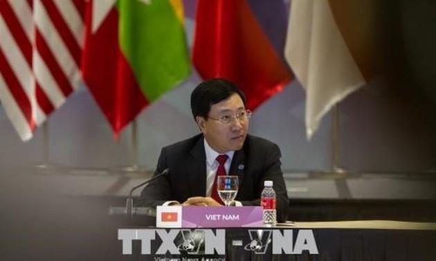Hội nghị Cấp cao Đông Á lần thứ 8: các nước Đông Á tăng cường hợp tác trong lĩnh vực hàng hải