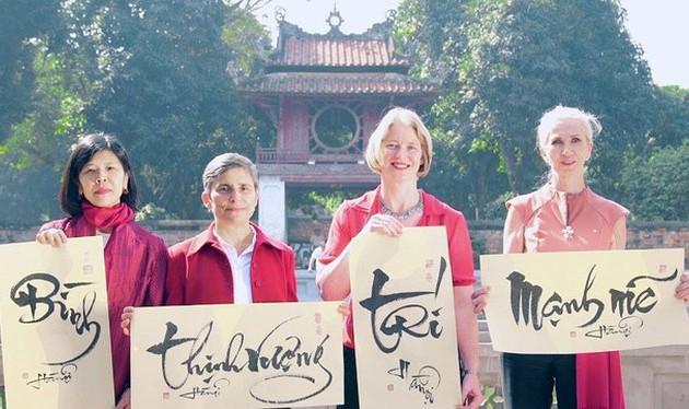 Các Đại sứ Canada, New Zealand, Nauy và Thụy Sỹ gửi lời chúc mừng năm mới của Việt Nam