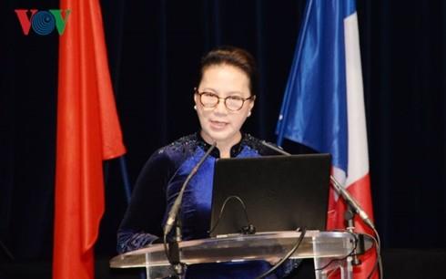 Chủ tịch Quốc hội Nguyễn Thị Kim Ngân chủ trì Lễ bế mạc Hội nghị hợp tác giữa các địa phương Việt Nam-Pháp lần thứ 11