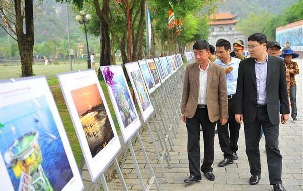 Trưng bày 223 ảnh nghệ thuật ca ngợi biển, đảo Việt Nam
