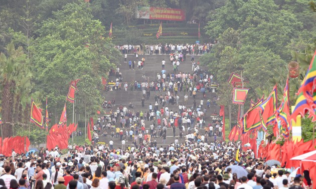 Nỗ lực triển khai công tác tổ chức giỗ Tổ Hùng Vương - Lễ hội Đền Hùng 2020