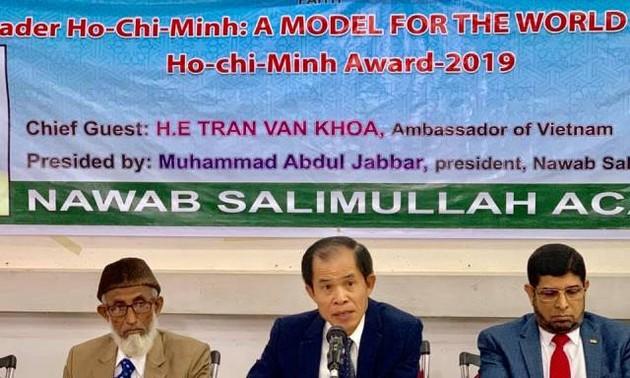"""Hội thảo """"Lãnh tụ Hồ Chí Minh: Tấm gương cho các chính trị gia thế giới"""" tại Dhaka"""