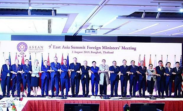 Việt Nam tham dự Hội nghị Bộ trưởng Ngoại giao EAS