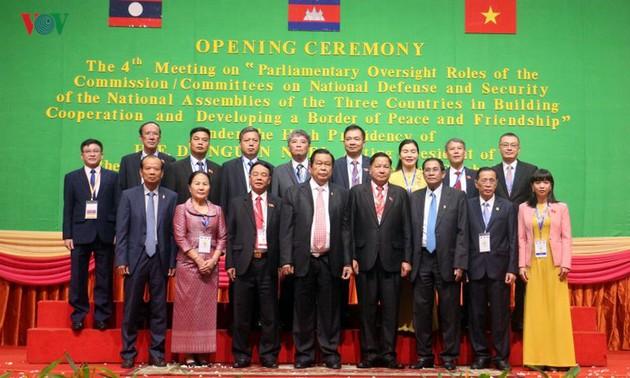 Hội nghị ủy ban Quốc phòng và An ninh của Quốc hội 3 nước Việt Nam – Lào – Campuchia