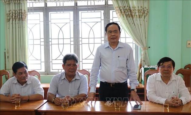 Chủ tịch Ủy ban Trung ương Mặt trận Tổ quốc Việt Nam gửi thư kêu gọi tiếp tục giúp đỡ người nghèo