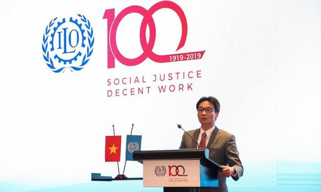 Kỷ niệm 100 năm ILO và Tư tưởng Hồ Chí Minh về lao động và an sinh xã hội