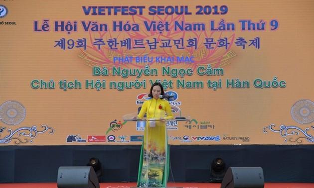 Tưng bừng lễ hội văn hóa Việt Nam tại Hàn Quốc lần thứ 9