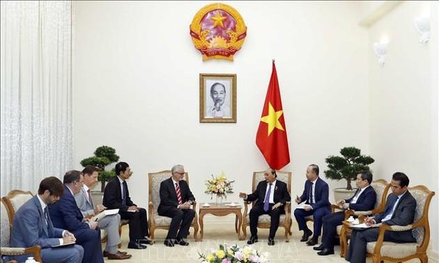 Thủ tướng Nguyễn Xuân Phúc tiếp Đại sứ Đức