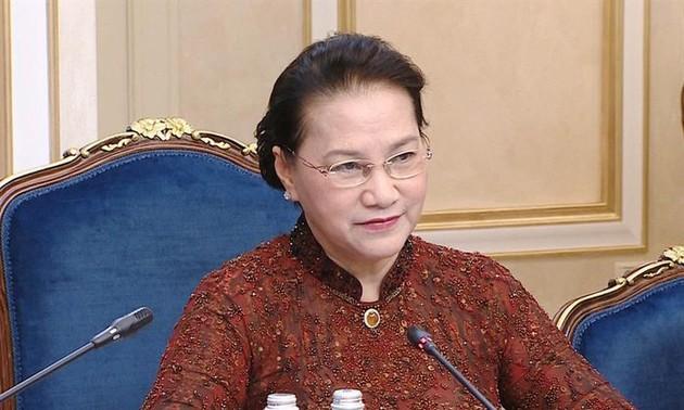 Chủ tịch Quốc hội dự Phiên họp toàn thể của Hội đồng Liên bang Nga