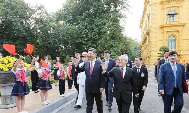 Điện mừng kỷ niệm 70 năm ngày thiết lập quan hệ ngoại giao Việt Nam – Trung Quốc