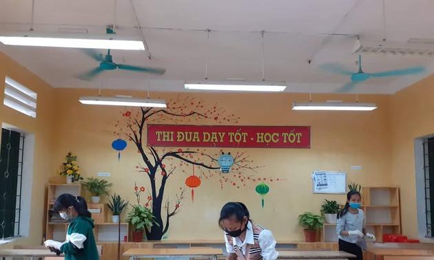 Hà Nội chuẩn bị sẵn sàng đón học sinh trở lại trường