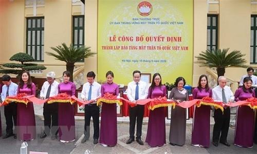 Khai trương Bảo tàng Mặt trận Tổ quốc Việt Nam