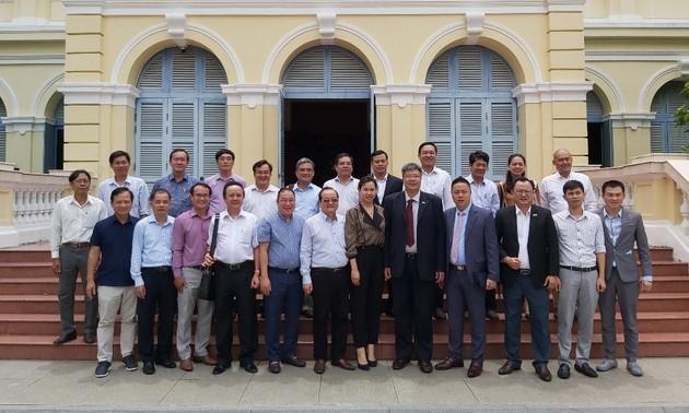 Doanh nhân kiều bào Hàn Quốc tìm cơ hội hợp tác đầu tư tại Tiền Giang