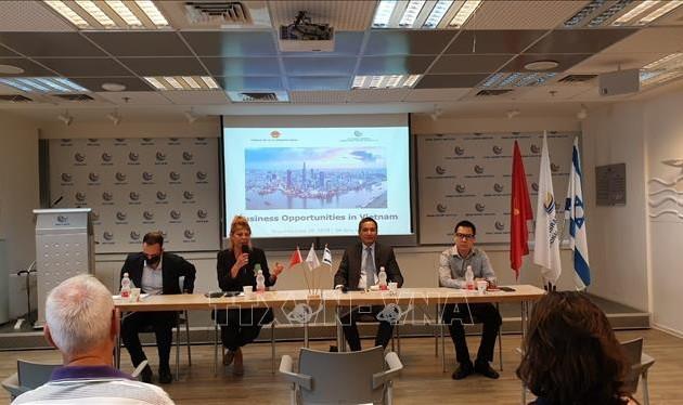 Thúc đẩy hợp tác kinh doanh và đầu tư Việt Nam - Israel