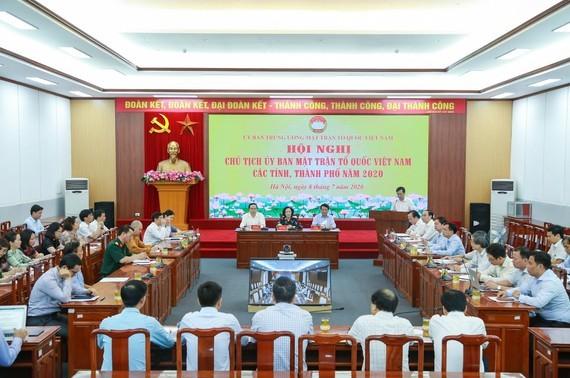 Hệ thống Mặt trận Tổ quốc các cấp cần khẳng định vai trò trong phát triển kinh tế - xã hội đất nước