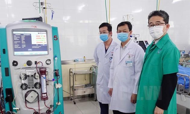 JICA cung cấp thiết bị hỗ trợ điều trị COVID-19 cho Bệnh viện Chợ Rẫy
