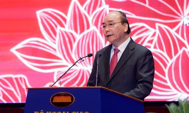 Công tác đối ngoại phải đi đầu trong việc giữ vững môi trường hòa bình, ổn định