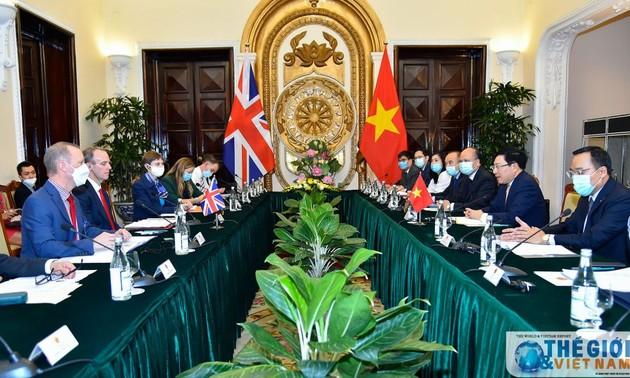Việt Nam – Vương quốc Anh nhất trí tăng cường hợp tác trên nhiều lĩnh vực