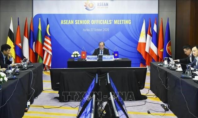 Quan chức cao cấp ASEAN chuẩn bị nhiều nội dung cho Hội nghị Cấp cao 37