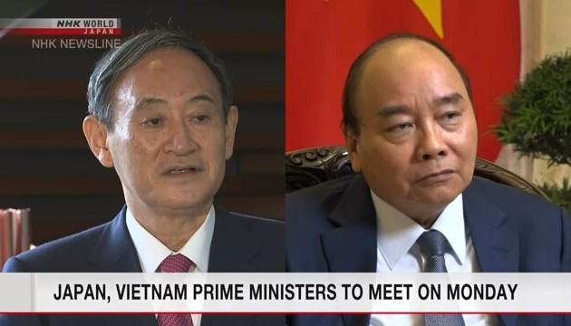 Truyền thông Nhật Bản đưa tin về chuyến thăm Việt Nam của Thủ tướng Suga Yoshihide