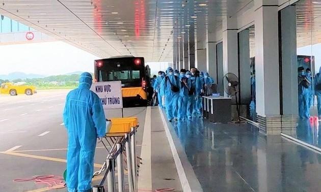 Việt Nam ghi nhận 6 trường hợp mắc Covid-19 cách ly ngay khi nhập cảnh
