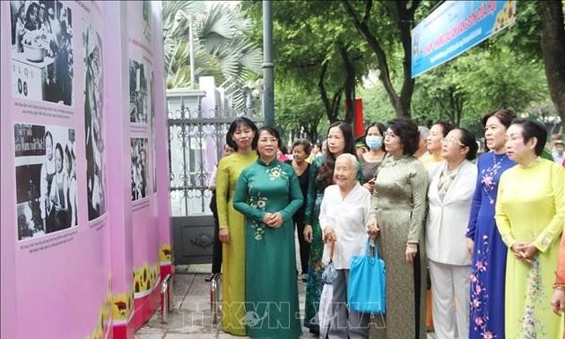 Triển lãm 90 năm - Những dấu ấn vàng son của Hội Liên hiệp Phụ nữ Việt Nam