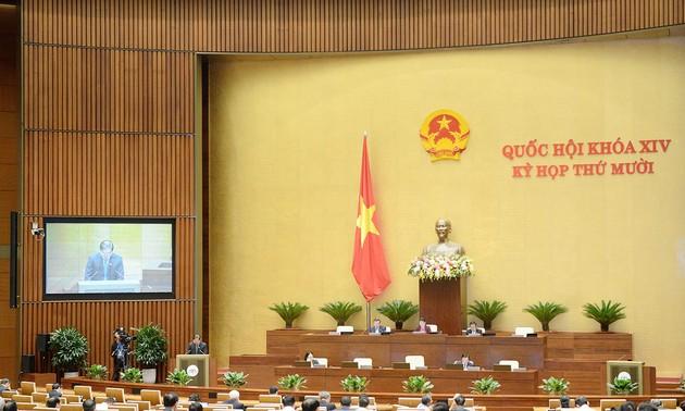 Quốc hội thảo luận dự thảo Luật Bảo vệ môi trường (sửa đổi)