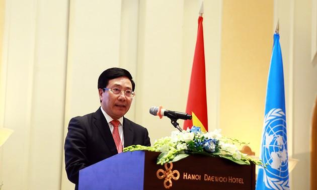 75 năm thành lập Liên hợp quốc: Việt Nam cam kết thúc đẩy chủ nghĩa đa phương cùng Liên hợp Quốc