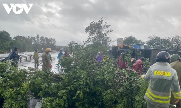 Cập nhật thiệt hại do bão Molave gây ra