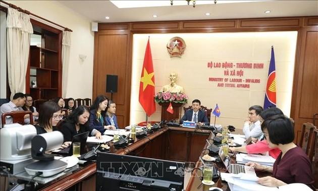 Hội nghị Bộ trưởng lao động ASEAN lần thứ 26 ra Tuyên bố chung
