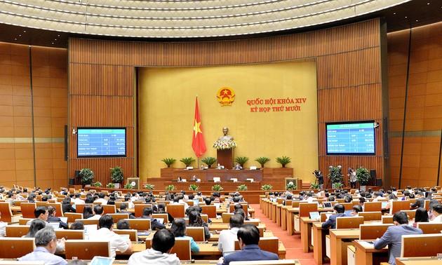 Quốc hội nhất trí mục tiêu tăng trưởng GDP năm 2021 khoảng 6%