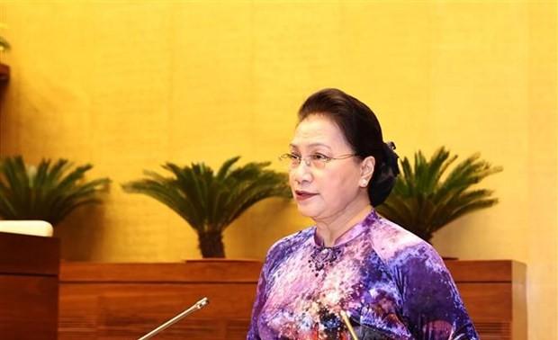 Chủ tịch Quốc hội gặp mặt 294 đại biểu dự Đại hội biểu dương các mô hình học tập toàn quốc