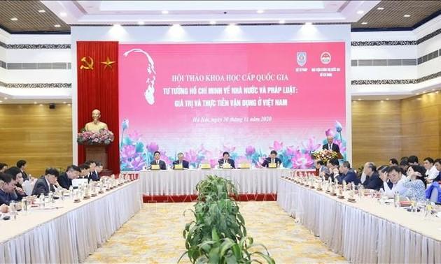 Tư tưởng Hồ Chí Minh về Nhà nước và pháp luật: Giá trị và thực tiễn vận dụng ở Việt Nam